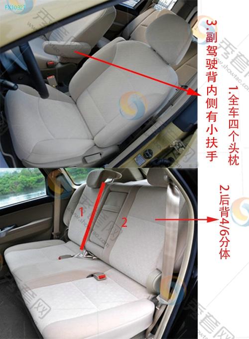32T 景逸 东风风行 东风风行 座套 坐垫 脚垫 尾箱垫 样板 安装 尺寸 高清图片