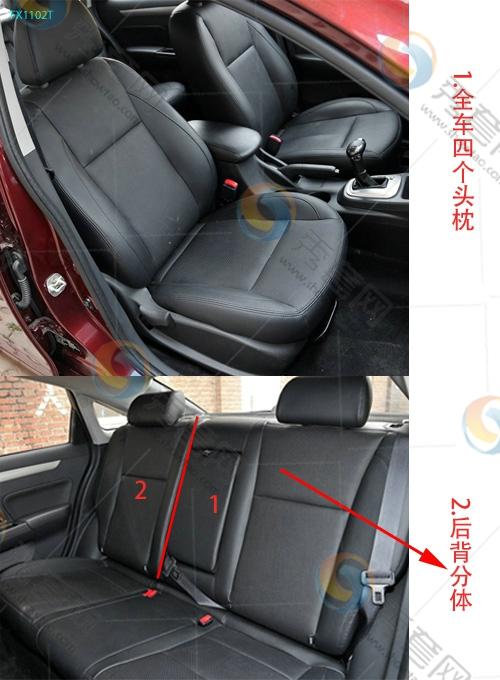 景逸S50 东风风行 东风风行 座套 坐垫 脚垫 尾箱垫 样板 安装 尺寸 高清图片