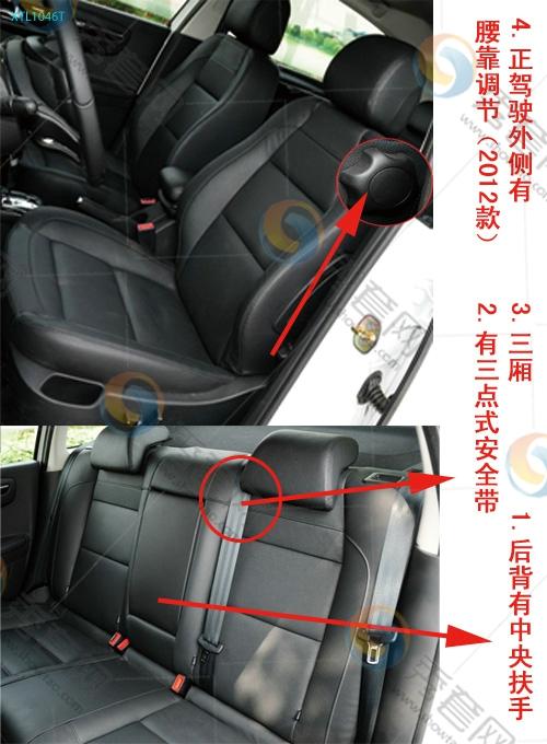 46T 世嘉 东风雪铁龙 雪铁龙 座套 坐垫 脚垫 尾箱垫 车型选择 秀套网高清图片
